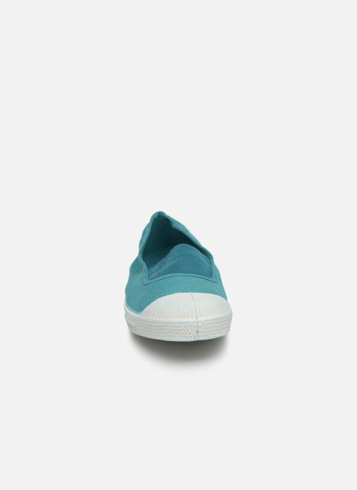 Ballet pumps Bensimon Tennis Elastique E Blue model view
