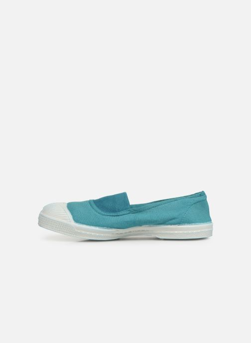 Ballet pumps Bensimon Tennis Elastique E Blue front view
