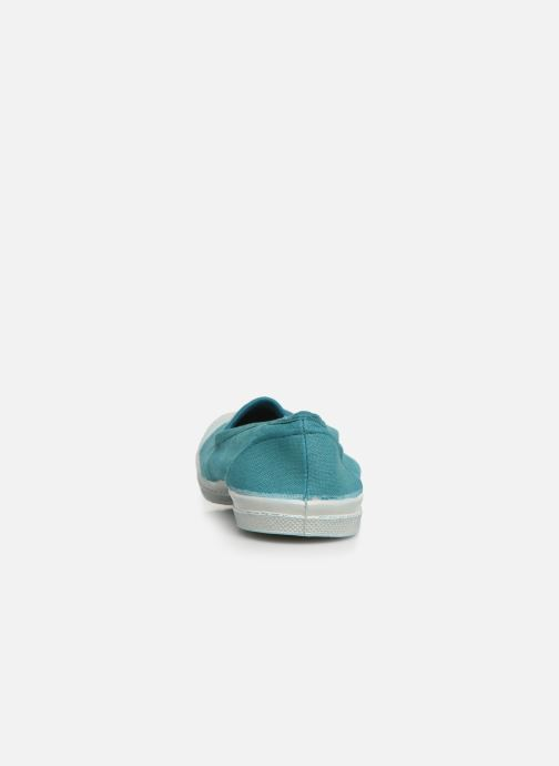 Ballet pumps Bensimon Tennis Elastique E Blue view from the right