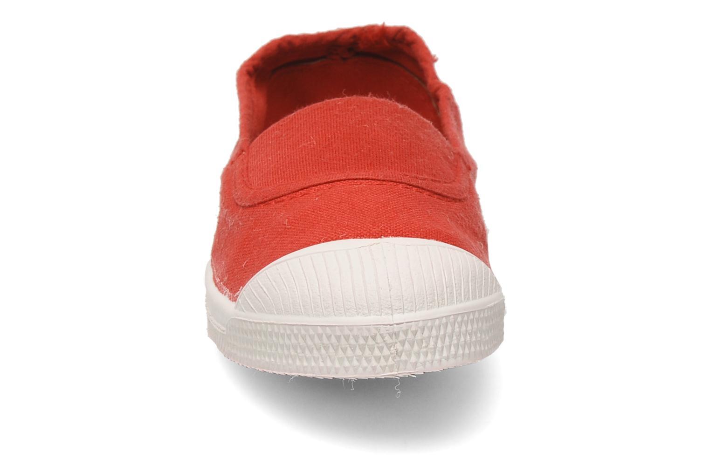 Ballet pumps Bensimon Tennis Elastique E Red model view
