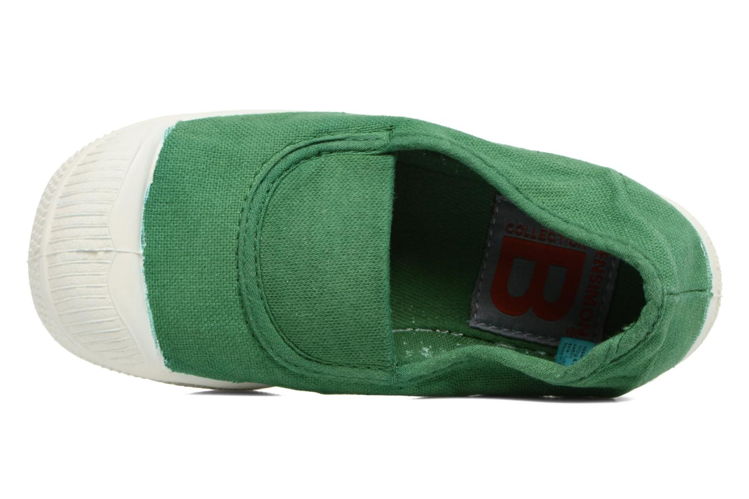 Ballerina's Bensimon Tennis Elastique E Groen links