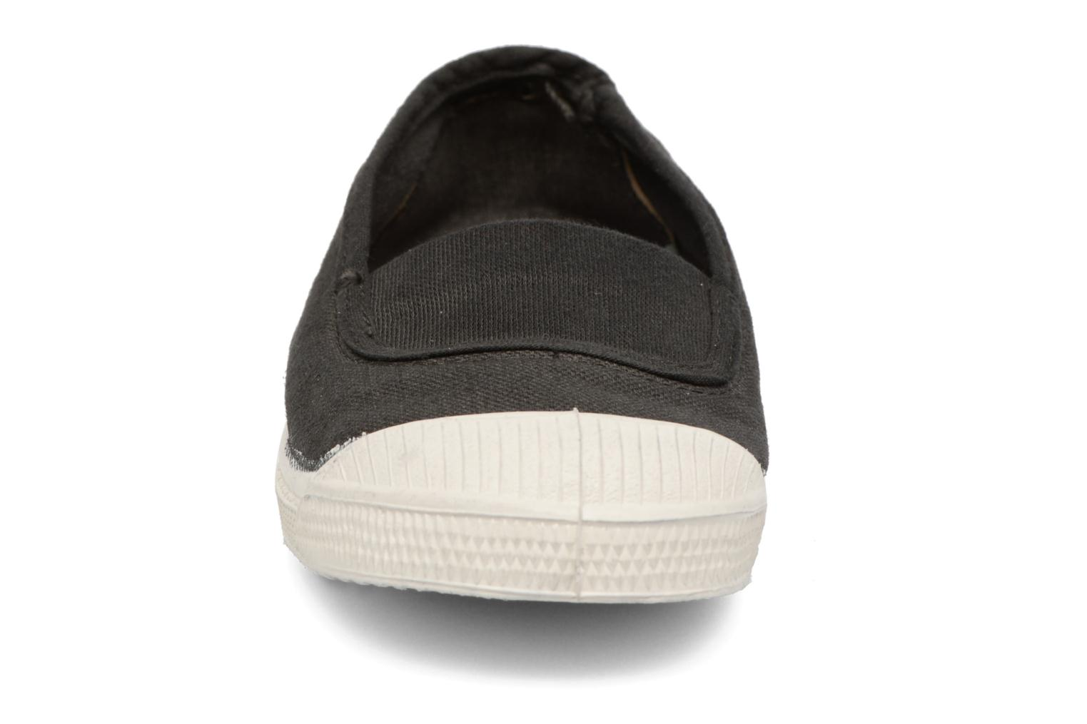 Ballet pumps Bensimon Tennis Elastique E Black model view