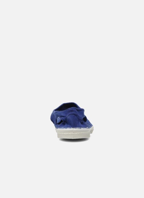 Ballet pumps Bensimon Marie Jane Blue view from the right