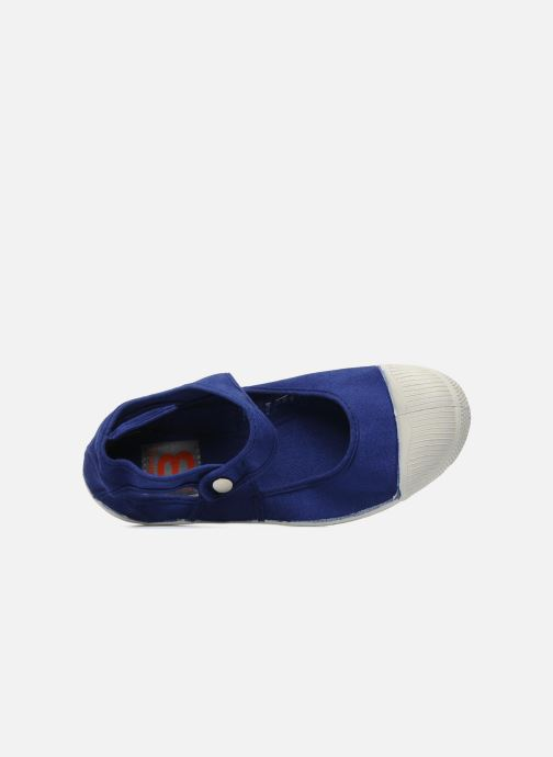 Ballet pumps Bensimon Marie Jane Blue view from the left