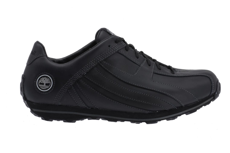 Sneaker Timberland Fells Trainer schwarz ansicht von hinten