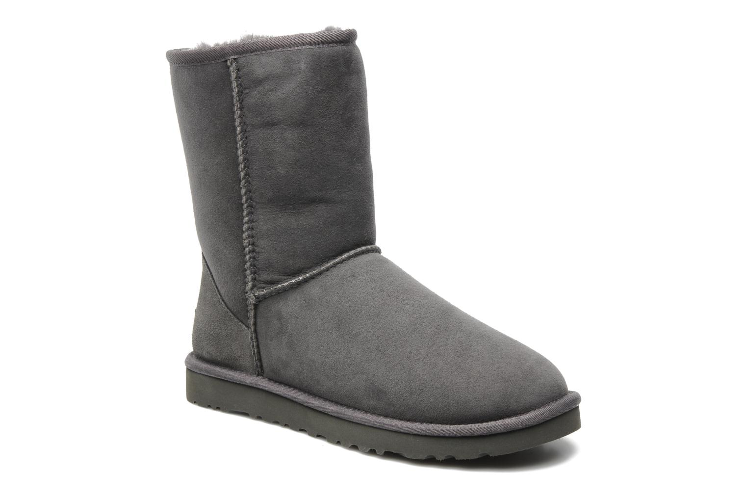 Ankle boots UGG Classic Short Grey detailed view/ Pair view