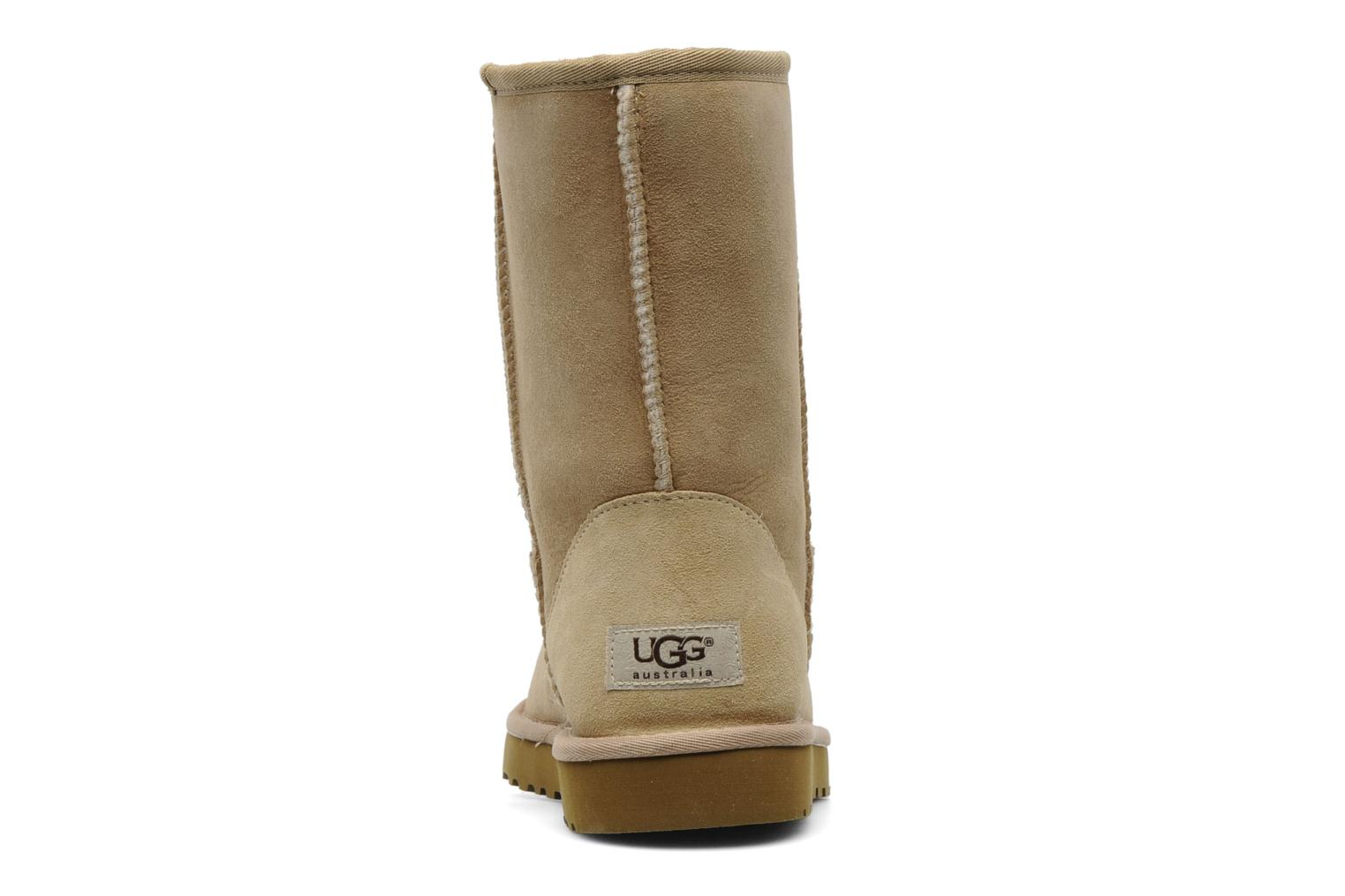 Ankle boots UGG Classic Short Beige view from the right