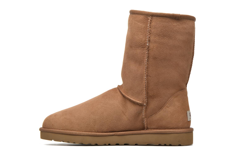 Bottines et boots UGG Classic Short Marron vue face