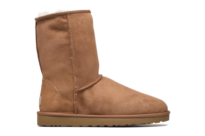 Bottines et boots UGG Classic Short Marron vue derrière