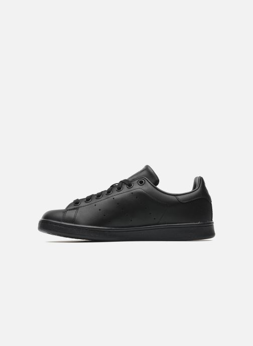 Sneakers adidas originals Stan Smith Zwart voorkant