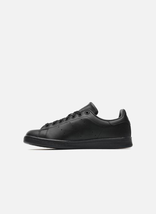 Sneaker adidas originals Stan Smith schwarz ansicht von vorne