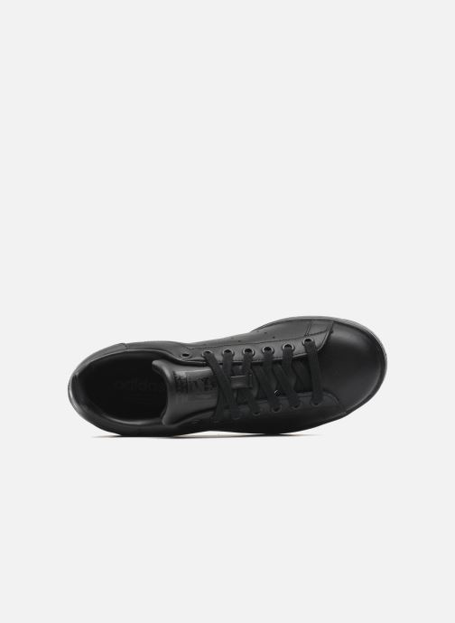 Sneaker adidas originals Stan Smith schwarz ansicht von links