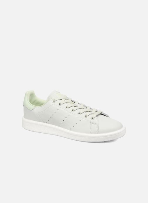 Deportivas adidas originals Stan Smith Verde vista de detalle / par