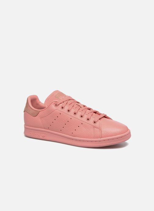 Deportivas adidas originals Stan Smith Rosa vista de detalle / par
