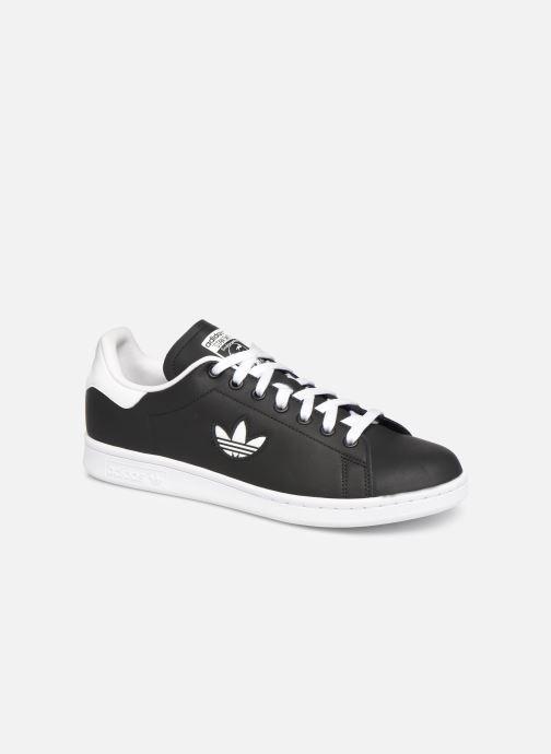 Sneakers adidas originals Stan Smith Svart detaljerad bild på paret
