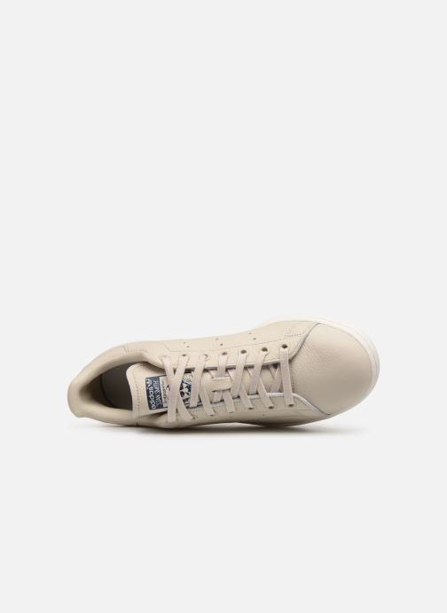 Baskets Adidas Originals Stan Smith Beige vue gauche