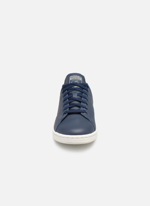 Sneaker Adidas Originals Stan Smith blau schuhe getragen