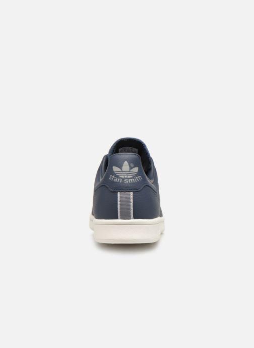 Deportivas adidas originals Stan Smith Azul vista lateral derecha