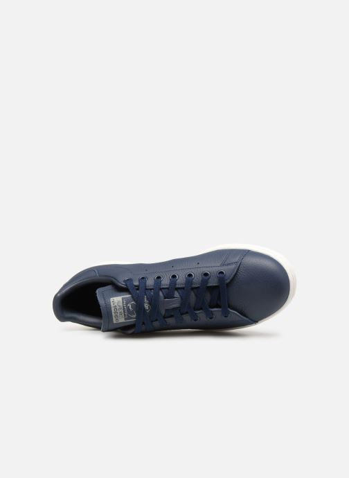 Sneaker Adidas Originals Stan Smith blau ansicht von links
