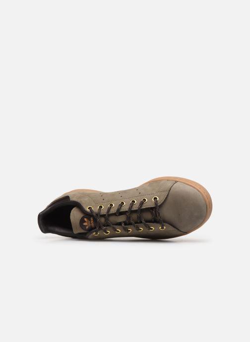 Sneaker adidas originals Stan Smith grün ansicht von links