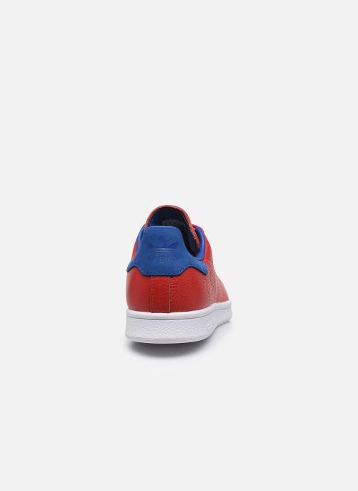 Baskets adidas originals Stan Smith Rouge vue droite