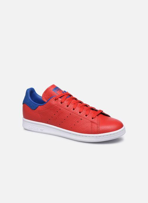 Deportivas adidas originals Stan Smith Rojo vista de detalle / par