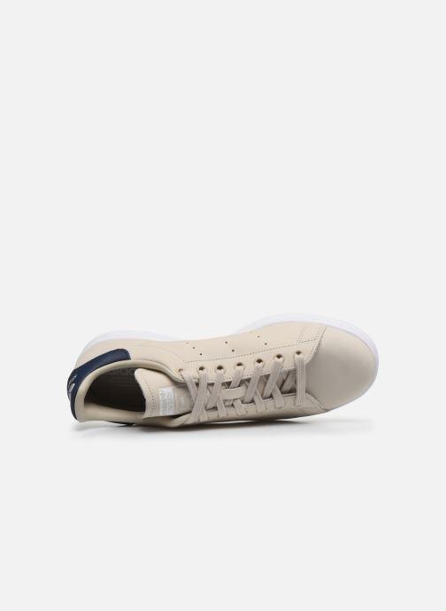 Baskets adidas originals Stan Smith Beige vue gauche