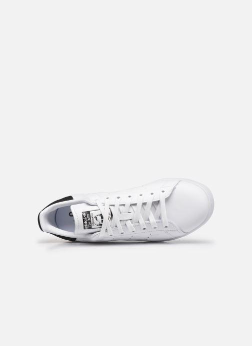 Sneaker adidas originals Stan Smith schwarz ansicht von links