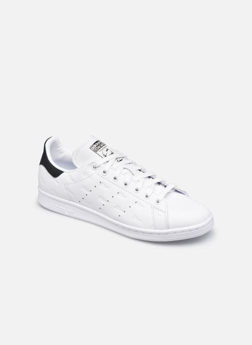 Baskets adidas originals Stan Smith Noir vue détail/paire