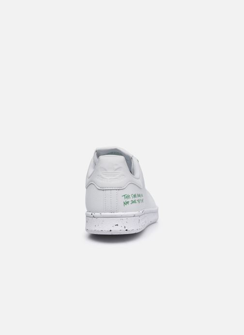 Sneaker adidas originals Stan Smith weiß ansicht von rechts