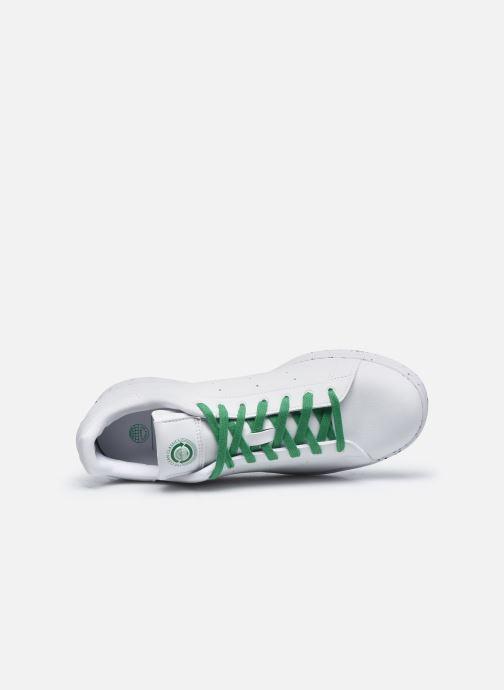 Sneaker adidas originals Stan Smith weiß ansicht von links
