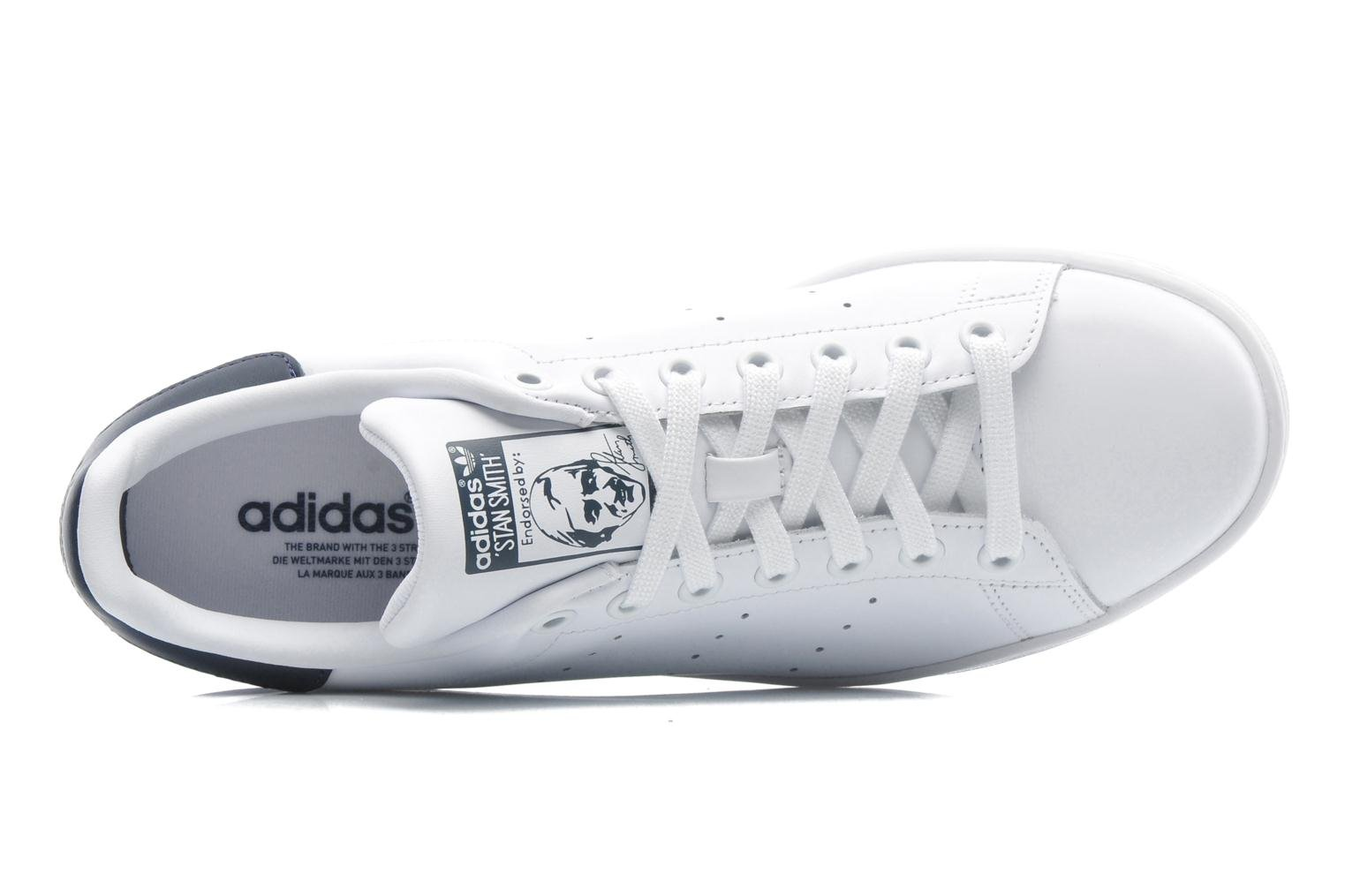 Sneaker Adidas Originals Stan Smith weiß ansicht von links
