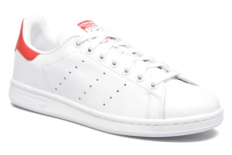 Adidas Originals Stan Smith (Blanc) - Baskets en Más cómodo Chaussures femme pas cher homme et femme
