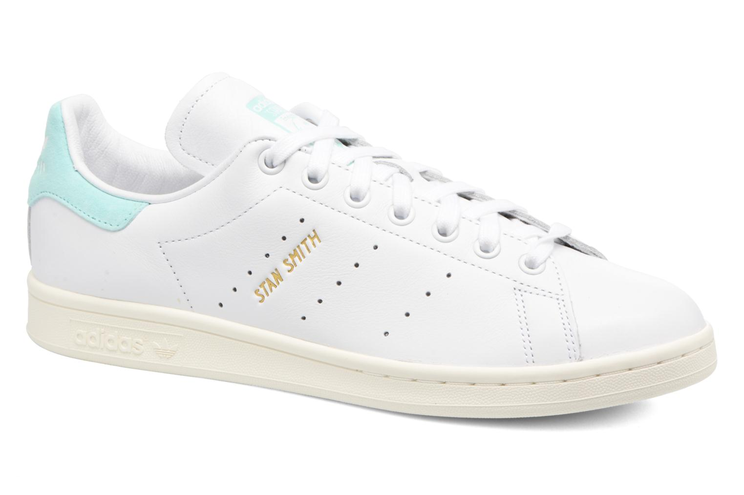 Baskets Adidas Originals Stan Smith Bleu vue détail/paire