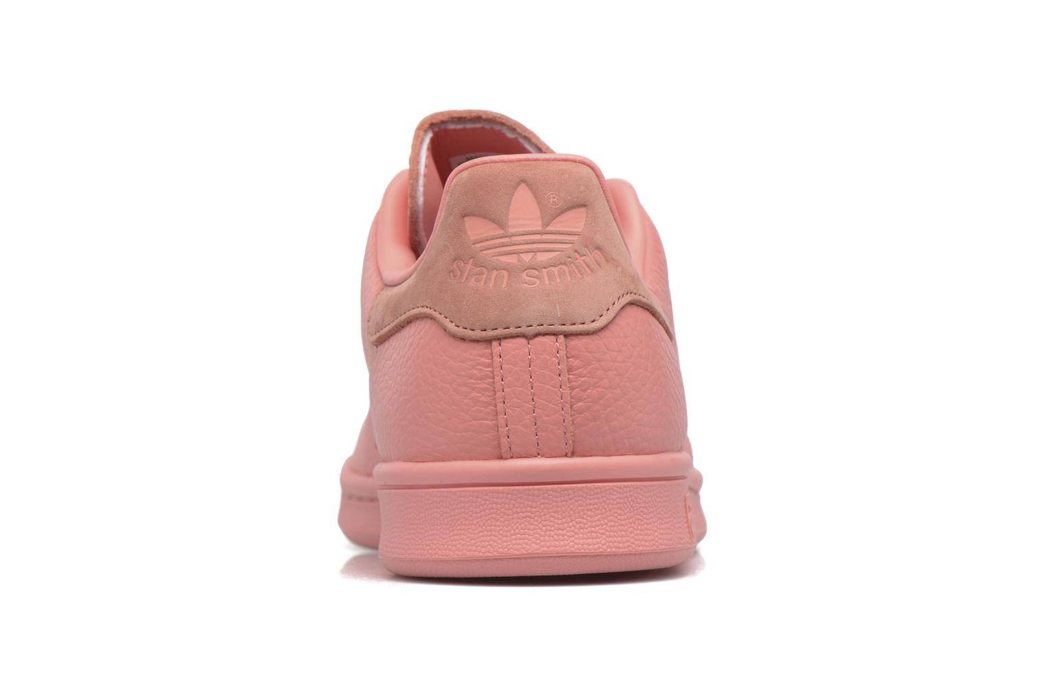 Trainers Adidas Originals Stan Smith Pink view from the right