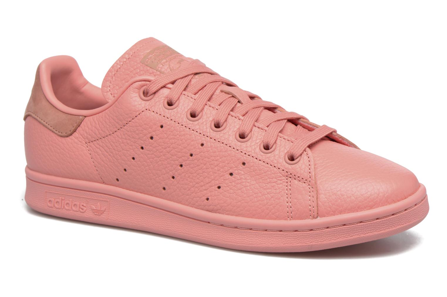 Trainers Adidas Originals Stan Smith Pink detailed view/ Pair view