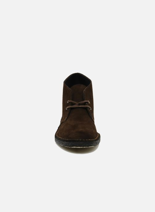 Ankle boots Clarks Desert Boot Brown model view