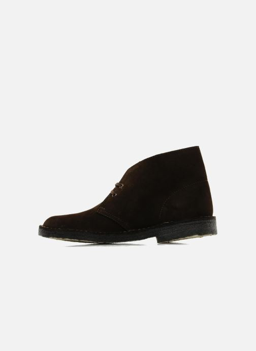 Ankle boots Clarks Desert Boot Brown front view