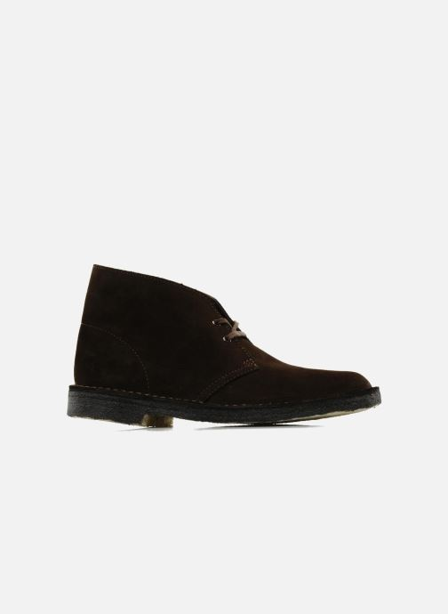 Ankle boots Clarks Desert Boot Brown back view