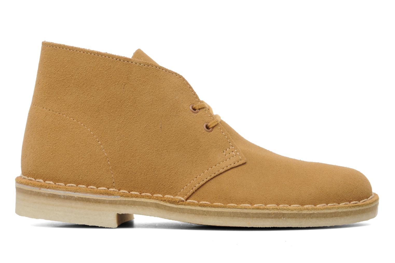 Boots en enkellaarsjes Clarks Desert Boot Geel achterkant