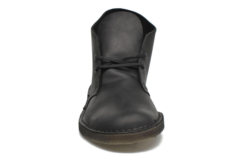 Bottines et boots Clarks Desert Boot M Noir vue portées chaussures
