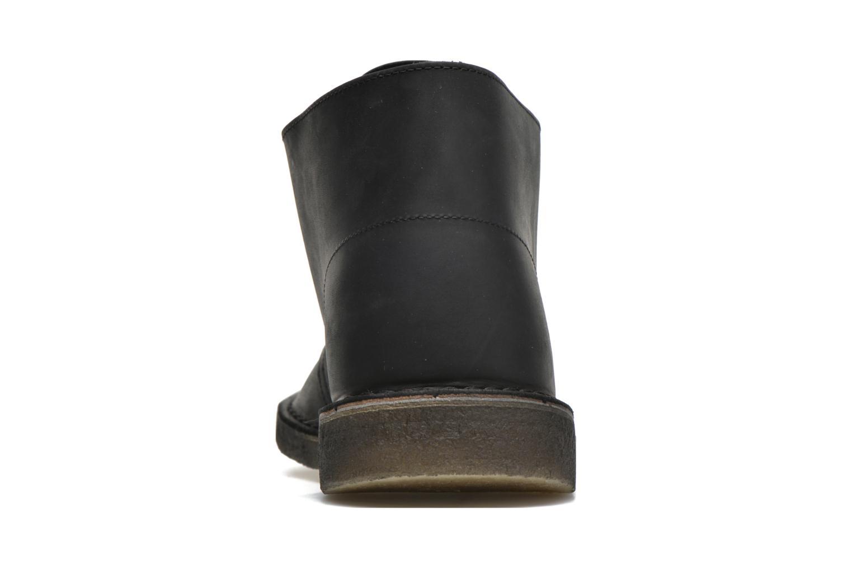 Bottines et boots Clarks Desert Boot M Noir vue droite