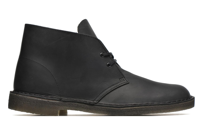 Bottines et boots Clarks Desert Boot M Noir vue derrière