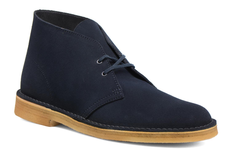 Clarks Desert Boot M (Bleu) - Bottines et boots en Más cómodo Réduction de prix saisonnier, remise