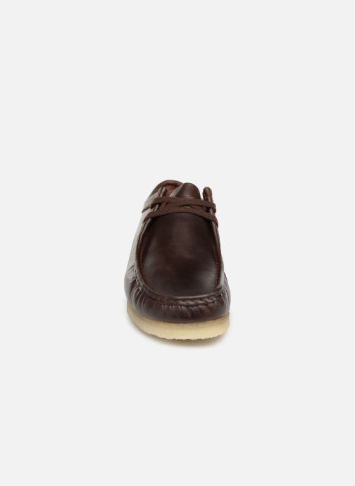 Veterschoenen Clarks Originals Wallabee Bruin model