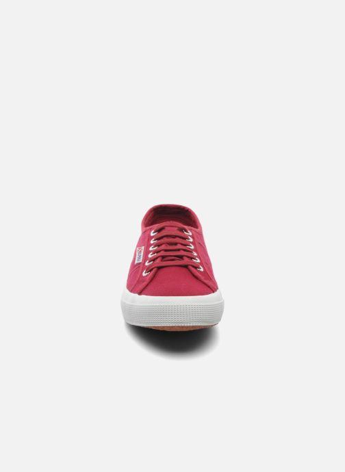 Baskets Superga 2750 Cotu M Bordeaux vue portées chaussures