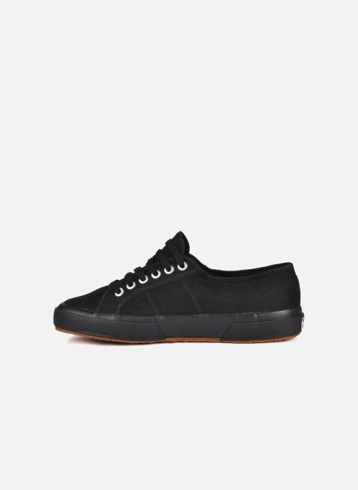 Sneakers Superga 2750 Cotu M Zwart voorkant