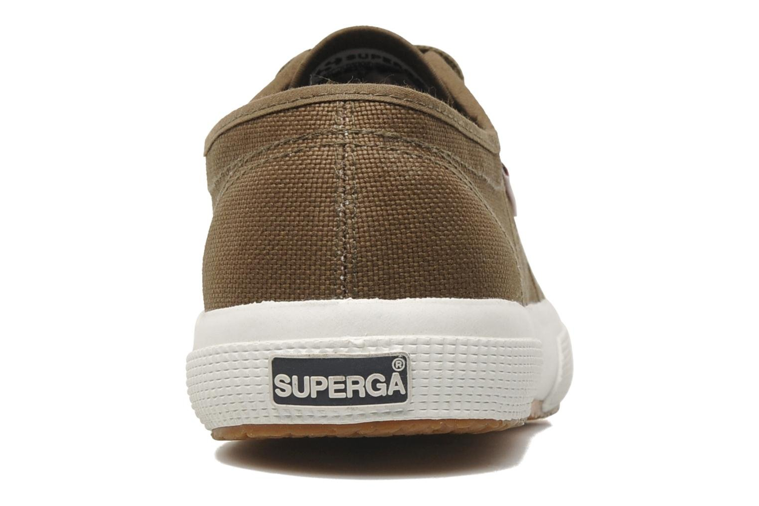 Trainers Superga 2750 Cotu M Green view from the right