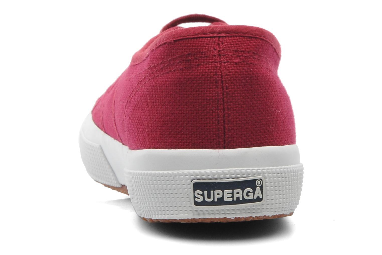 Sneakers Superga 2750 Cotu M Vinröd Bild från höger sidan