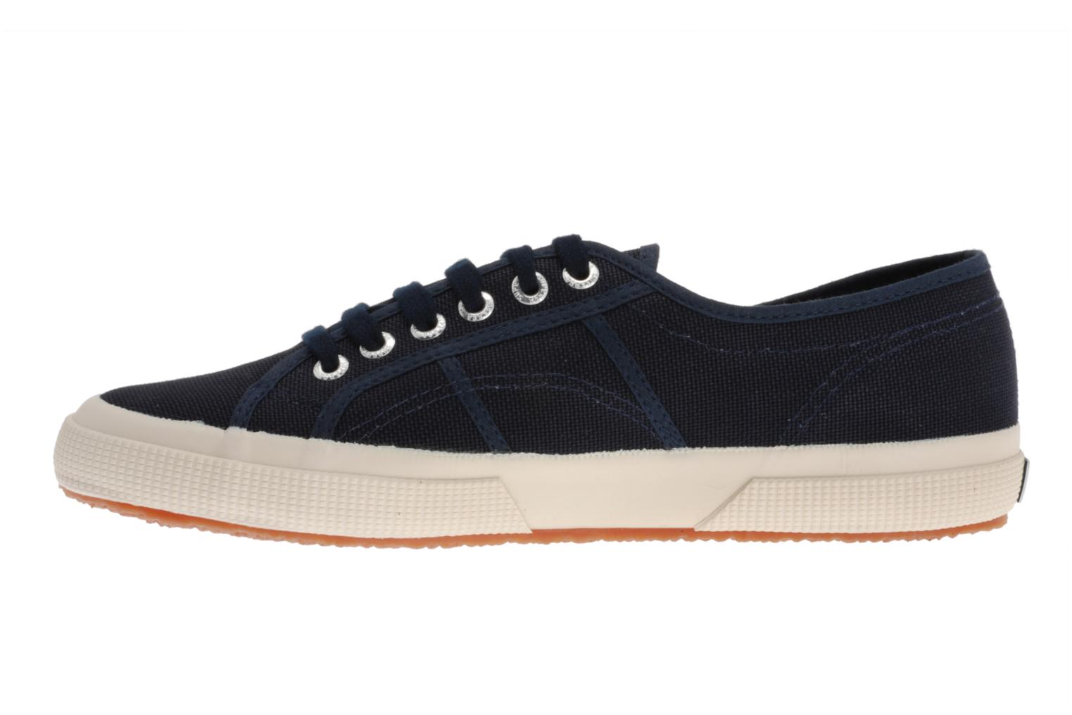 Baskets Superga 2750 Cotu M Bleu vue face